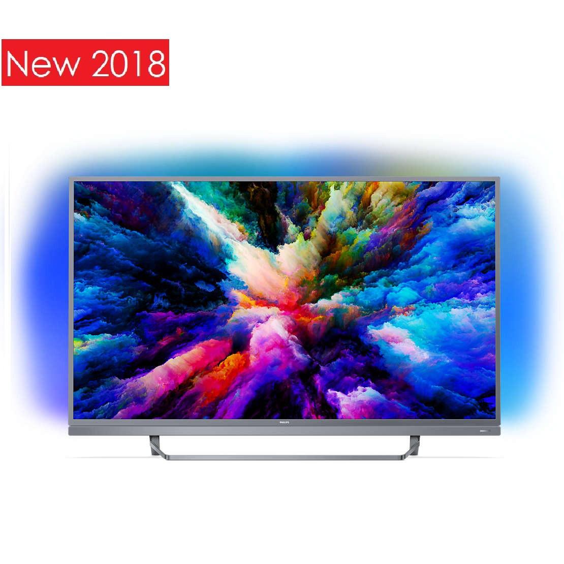 Телевизор Philips 55PUS7503/12 (PPI1700Гц, 4K Smart Android, Quad Core, P5 Perfect Picture, DVB-С/Т2/S2)