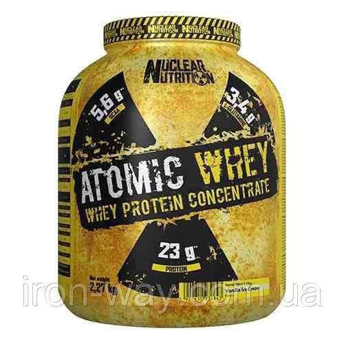 Fitness Authority Nuclear Nutrition Atomic Whey 2270 g (Blackcurrant Ice Cream)