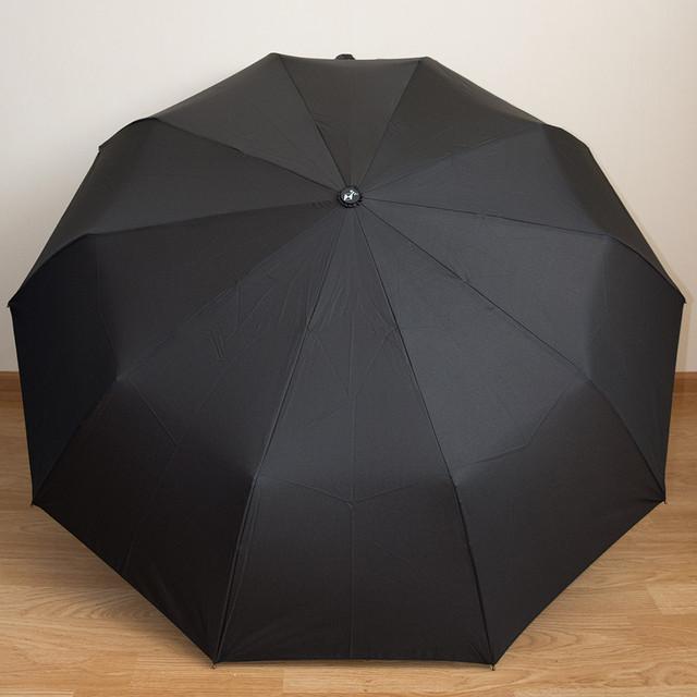 Зонт мужской с деревянной ручкой