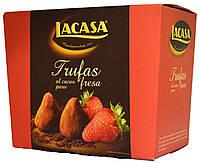 """Конфеты трюфельные Lacasa """"Strawberry"""" 200г."""
