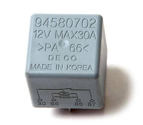 Реле 4-х контактное Lanos / Ланос кондиционера, вентилятора, обогрев заднего стекла ONRUI, 94580702