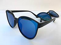 Очки солнцезащитные синее зеркало