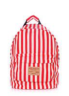 Рюкзак молодежный POOLPARTY красный, фото 1