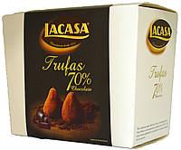 Конфеты трюфельные Lacasa 70% Chocolate 150г.