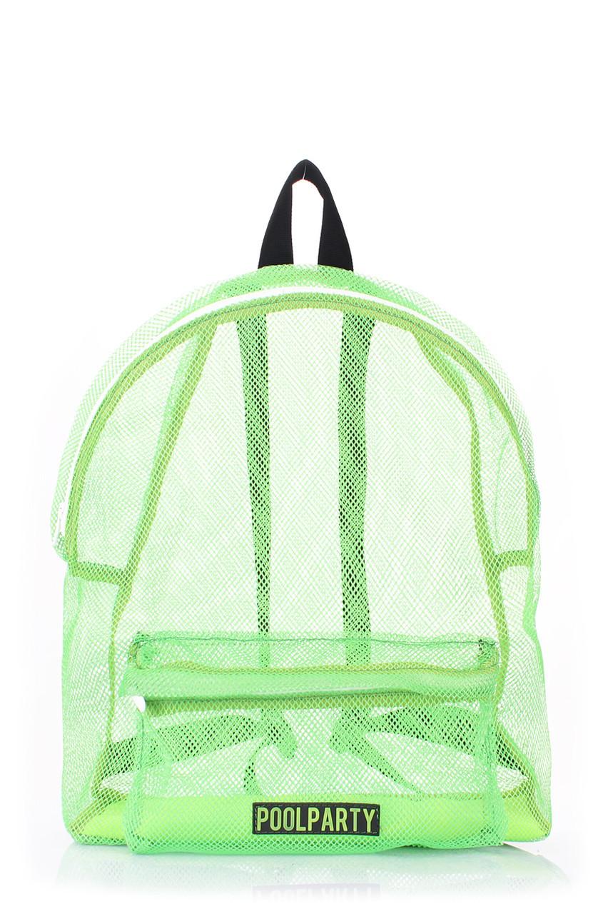 Рюкзак молодежный POOLPARTY зеленый