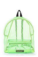 Рюкзак молодежный POOLPARTY зеленый, фото 1