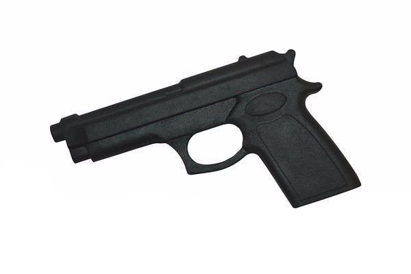 Пистолет резиновый тренировочный