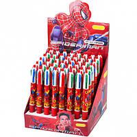 """Ручка детская 4 цвета """"Человек Паук"""""""
