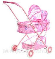 Коляска для Кукол Розовая Игрушечная Колясочка, 883, 000352, фото 1