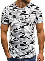 Мужская камуфляжная футболка 0164