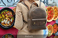 """Рюкзак женский натуральная кожа """"crazy horse"""", фото 1"""