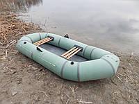 """Надувная двухместная резиновая лодка Лисичанка """"Чайка""""."""