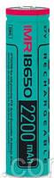 Аккумулятор Videx IMR18650 высокотоковый 2200 мАч 3,7В