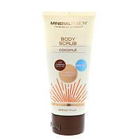 Mineral Fusion, Body Scrub, Coconut, 5 oz (141 g)