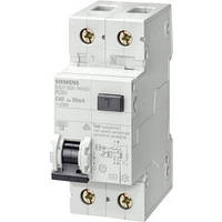 УЗО (дифреле) Siemens (IFN 30мА, 1+N-пол., 10A), 5SU1356-0KK10