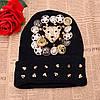 Молодежная шапка с заклепками, фото 2