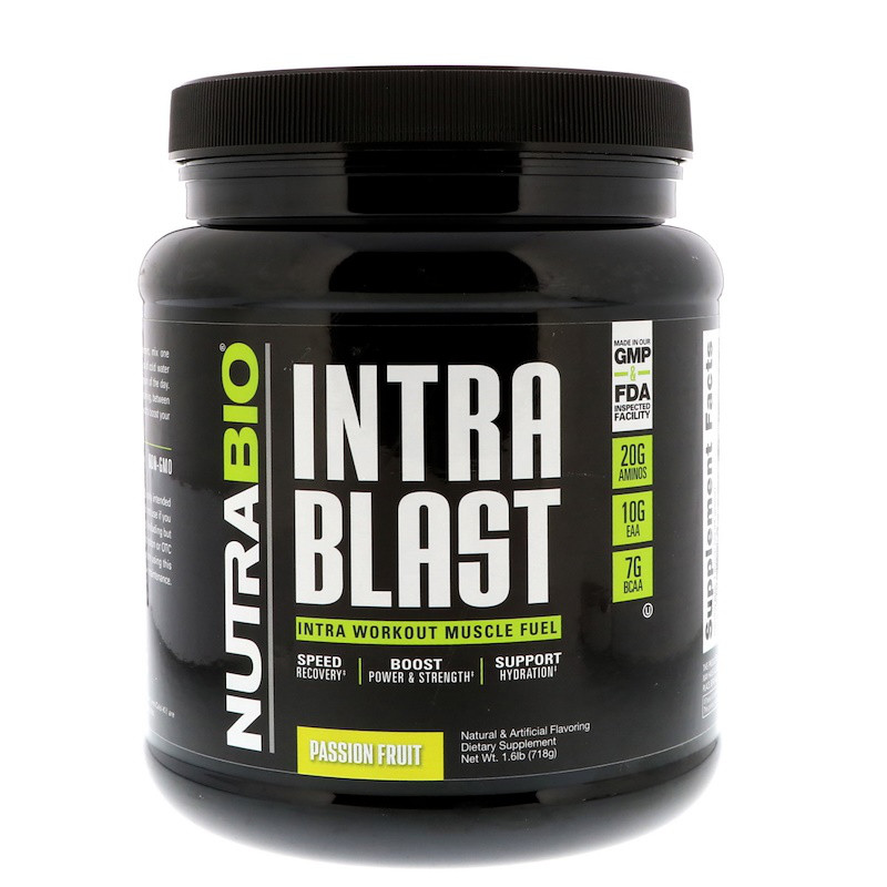 NutraBio Labs, Intra Blast, Passion Fruit, 1.6 lb (718 g)