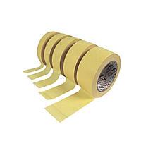 Лента малярная желтая 25 мм * 50 м Рукоятка 24-015 (24-015)
