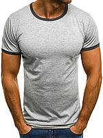 Мужская футболка 0168 серая