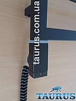 Чёрный прямоугольный ТЭН TERMA ONE 30х40 Black: регулятор 40 и 60С, таймер 2ч., +LED; под пульт ДУ. Польша 1/2