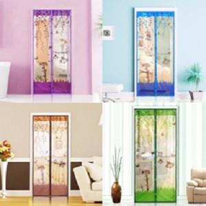 Москитная сетка на магнитах дверная цветная 100 см. х 210 см.