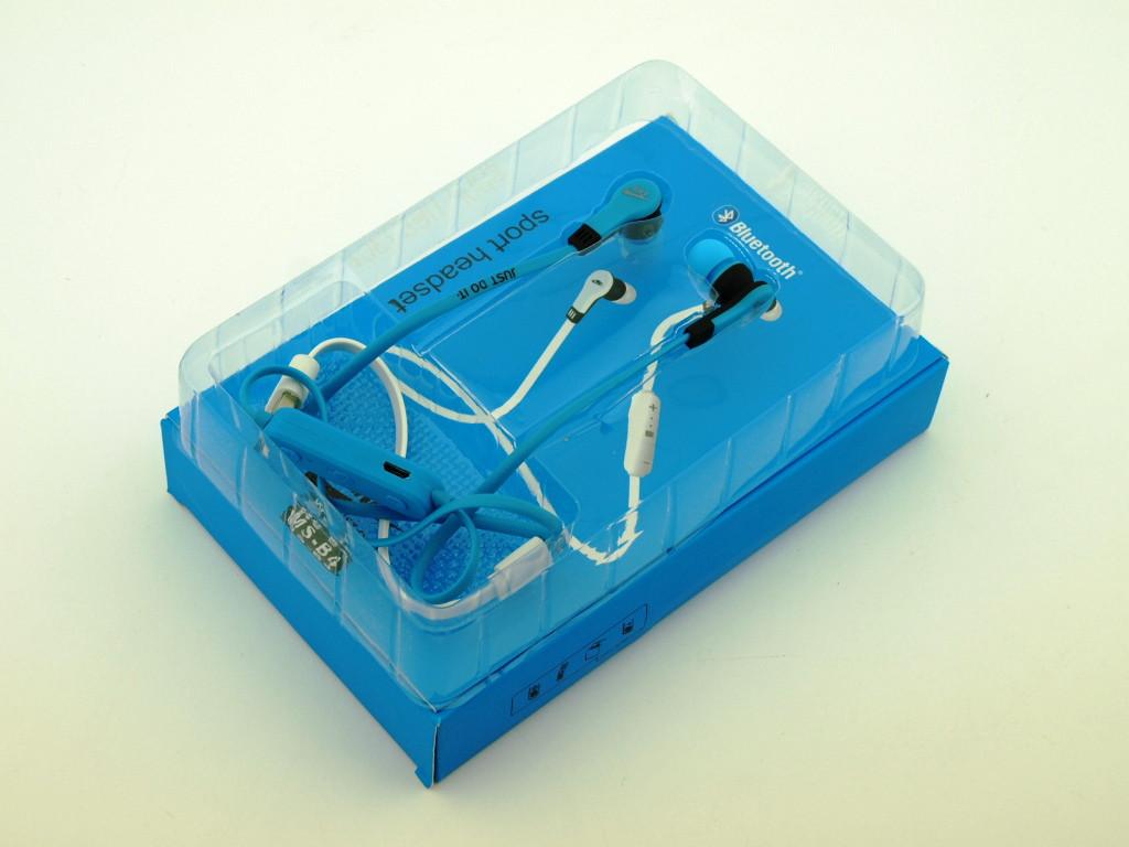... NIKE MS-B4 реплика, bluetooth наушники беспроводная гарнитура, синие, ...
