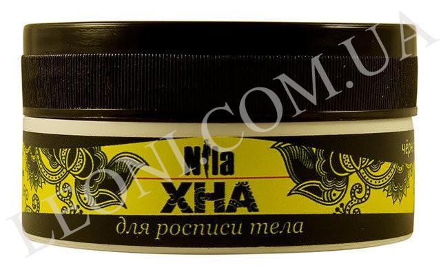 Хна для биотату, черная, Nila 20 г.
