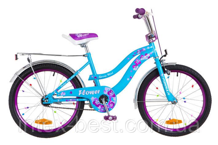 """Велосипед детский двухколесный 20 дюймов FORMULA-FLOWER 20"""" OPS-FRK-20-051, фото 2"""