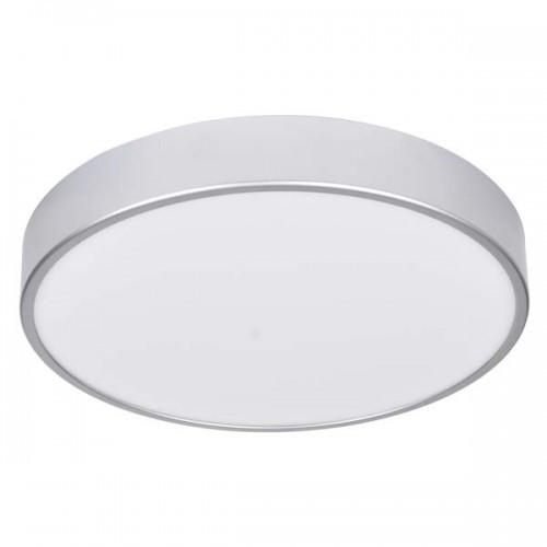 Smart-светильник Feron CE1030 16W круг накладной серебро 1360Lm 4000K 203*34mm