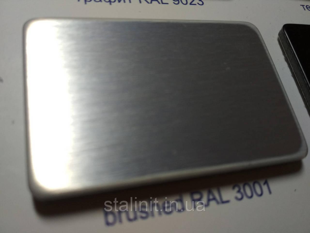 Брашированные композитные панели d=3 mm