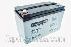 Аккумулятор мультигелевый Challenger A12-90A 12V 90AH, (AGM) для ИБП