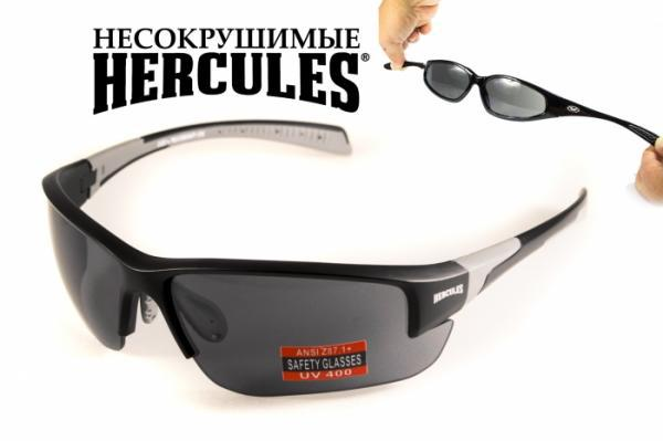 Защитные спортивные очки  Hercules-7 от Global Vision (США) дымчатая линза