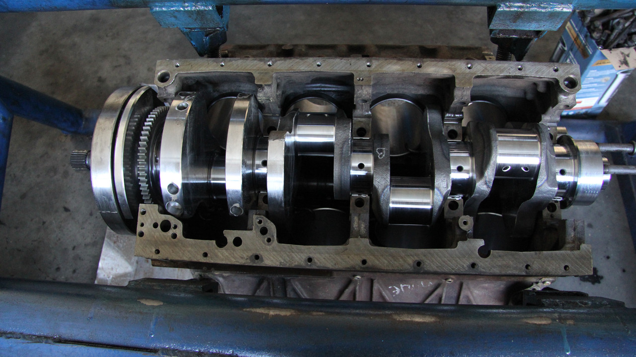 Ремонт двигателя КАМАЗ ЕВРО (740.30, 740.50, 740.51)