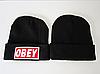 Стильная шапка ОВЕY черная, фото 2