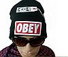 Стильная шапка ОВЕY черная, фото 4