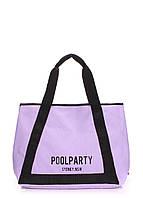 Коттоновая сумка POOLPARTY Laguna, фото 1