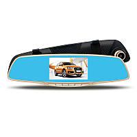 Зеркало-видеорегистратор ЕА350 3в1 экран 5 дюймов + Видео парковка.
