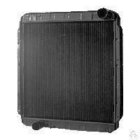 54115-1301010-10 Радиатор водяного охлаждения с повышенной теплоотдачей КАМАЗ-54115 (3-х рядн.)