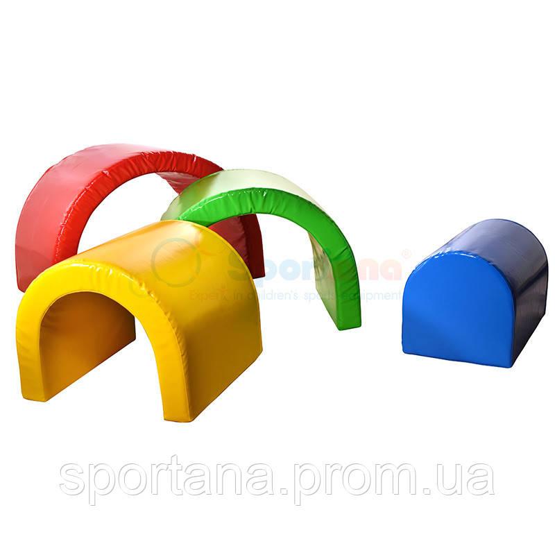 """Мягкие модули """"Разноцветные дуги"""""""