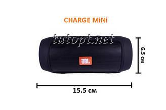 Портативная беспроводная колонка JBL CHARGE MINI USB, SD, FM, Bluetooth,влагоустойчивый