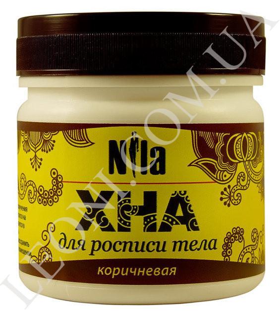 Хна для биотату, коричневая, Nila 100 г.