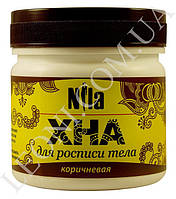 Хна для биотату, коричневая, Nila 100 г. Доставка по всей Украине
