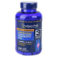 "Puritans Pride Glucosamine Chondroitin MSM ""Здоровые суставы"" 240 капсул"
