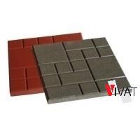 Тротуарная плитка Квадрат 250х250х25 мм