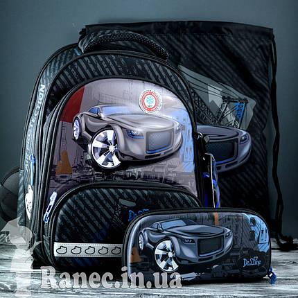 Школьный набор DeLune (рюкзак+сменка+пенал+брелок) 9-119, фото 2