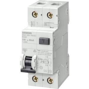 УЗО (дифреле) Siemens (AC, 30мА 1+N-P C16 4.5кA), 5SU1353-1KK16