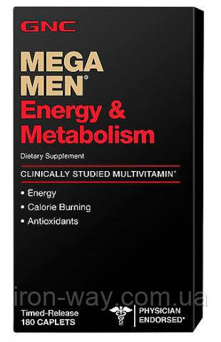 GNC Mega Men Energy & Metabolisim 90 caps