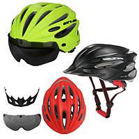 Велосипедный шлем-очки 2-в-1 GUB K80 PLUS со съёмной солнцезащитной линзой