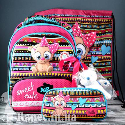 Школьный набор DeLune (рюкзак + сменка+пенал+брелок) 9-115, фото 2