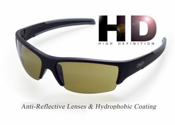 Спортивные очки  DayDream-2 HD от Global Vision (США) зеленая линза